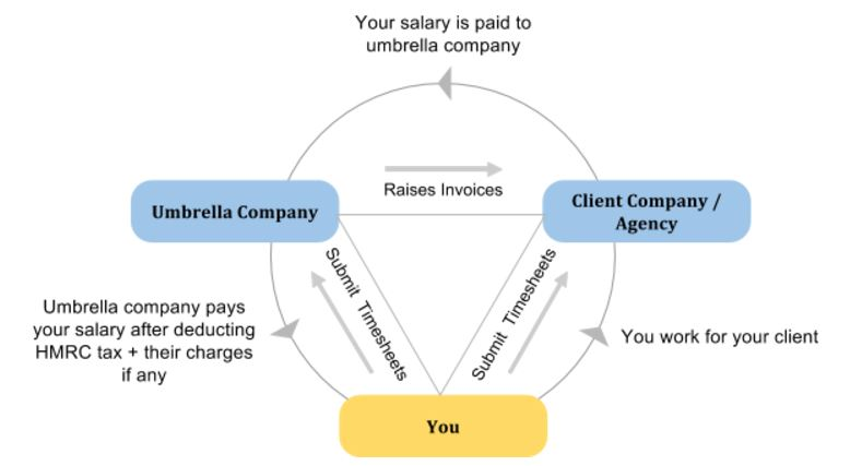 Umbrella company structure